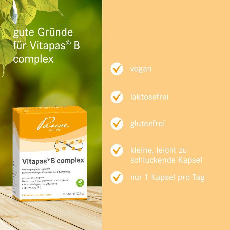 Vitapas B complex Gute Gründe