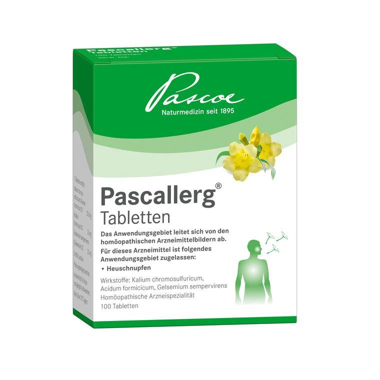 Pascallerg 100 Tabletten Packshot PZN 07703644