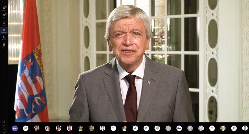 Herrn Volker Bouffier zu Gast bei der digitalen 125 Jahresfeier
