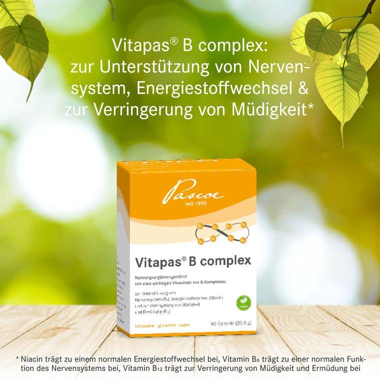 Vitapas B Complex Health Claims