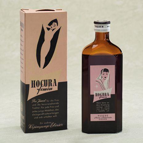Historische Produktabbildung Hocura femin