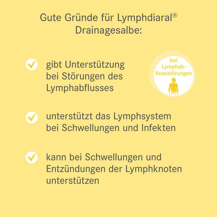 Gute Gründe für die Lymphdiaral Drainagesalbe