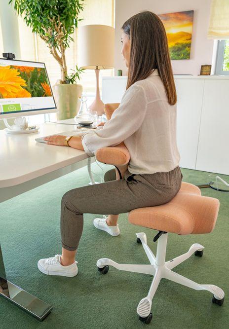 Individuell verstellbaren ergonomischen Schreibtischstuhl