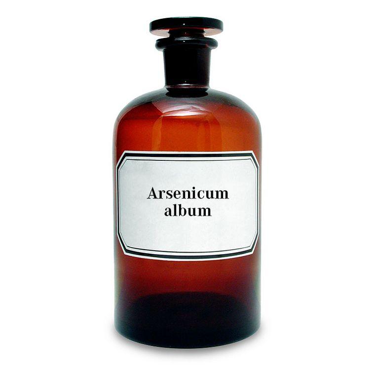 Arsen(III)-oxid [Lymphdiaral Basistropfen SL]
