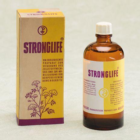 Historische Produktabbildung Stronglife