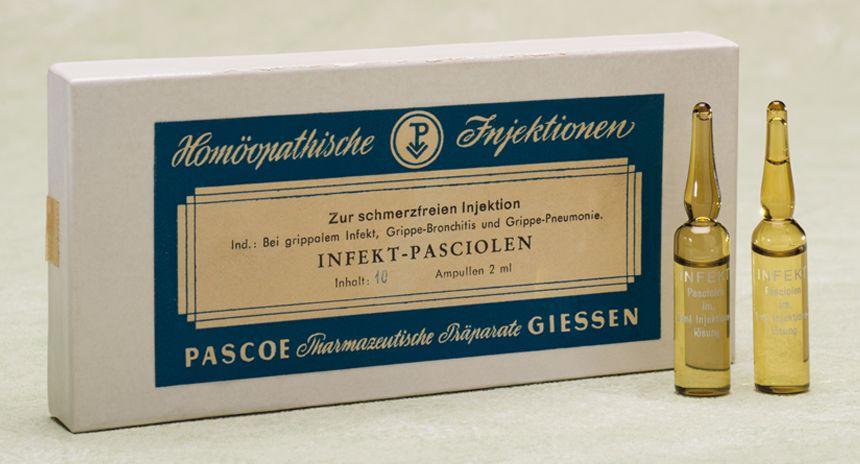 Historische Produktabbildung Infekt Pasciolen