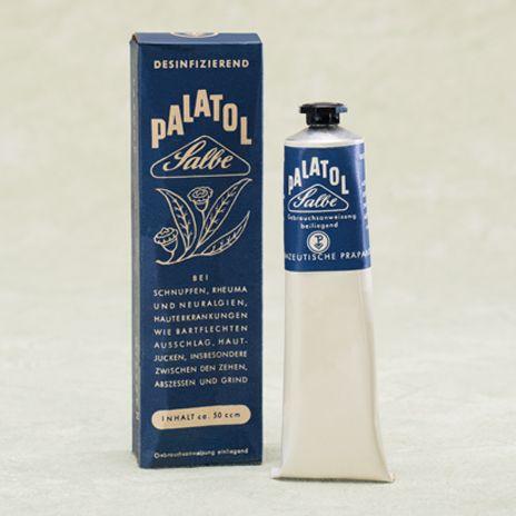 Historische Produktabbildung Palatol