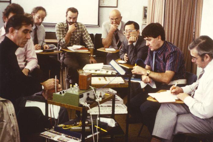 Expertenkonferenz in den 1980er Jahren
