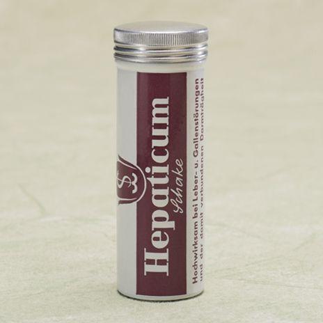 Historische Produktabbildung Hepaticum
