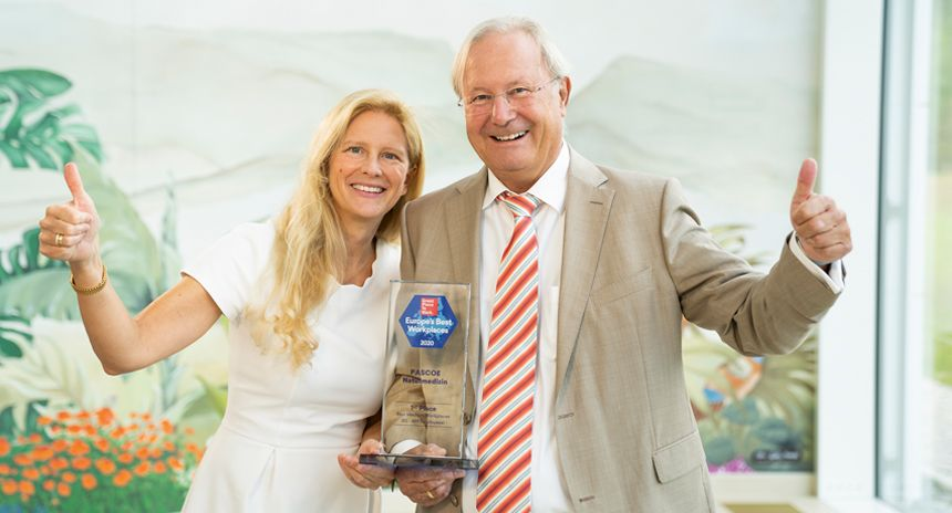 Gewinner bei Great-place-to-work Europe 2020