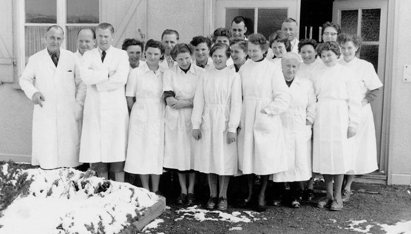Betrieb 50er Jahre: Belegschaft