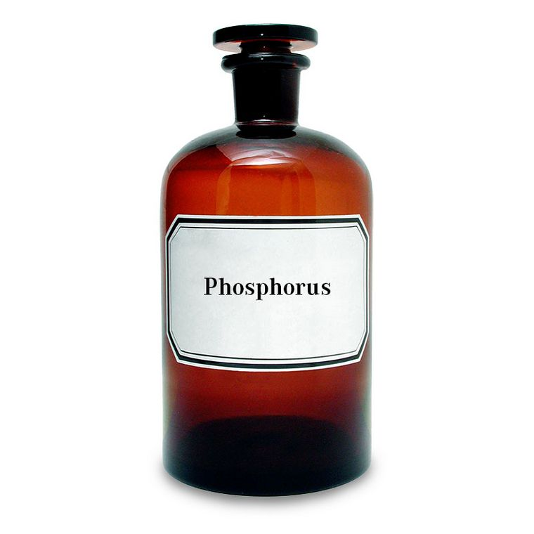 Gelber Phosphor