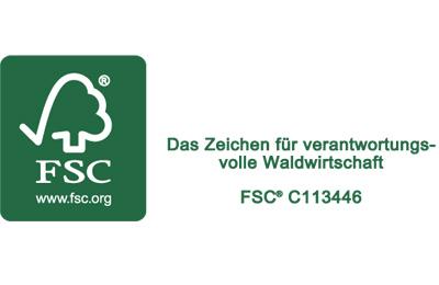 FSC Zertifikat für Pascoe Naturmedizin