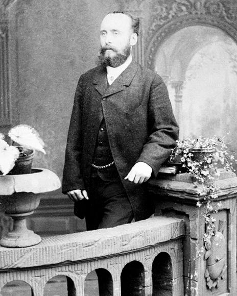 Rudolf Pascoe, der älteste Bruder von Friedrich Pascoe